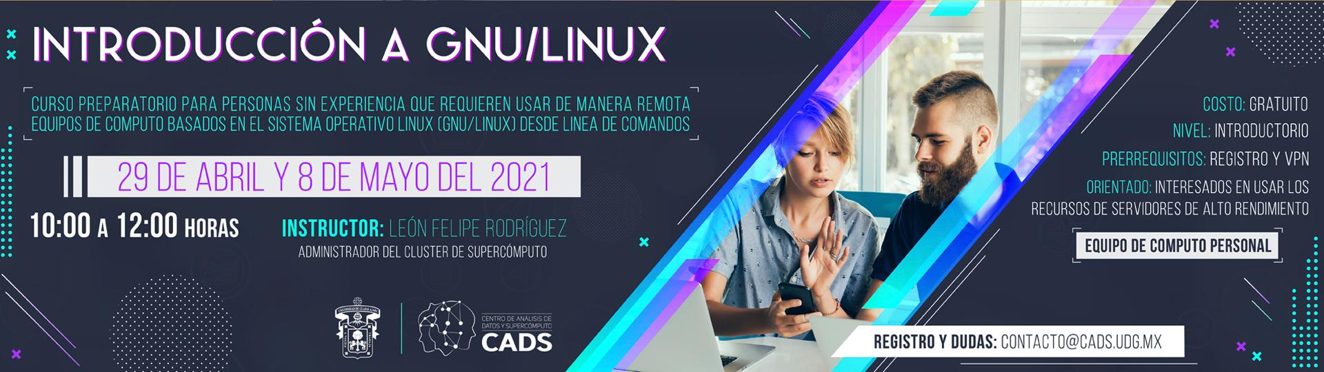 CADS: Capacitacion en GNU/ LINUX 2021